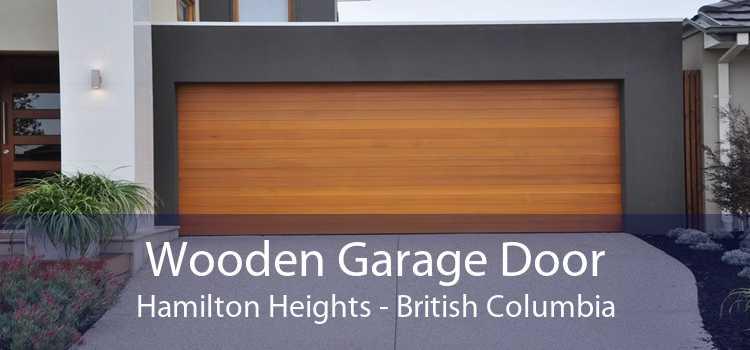 Wooden Garage Door Hamilton Heights - British Columbia