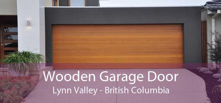 Wooden Garage Door Lynn Valley - British Columbia