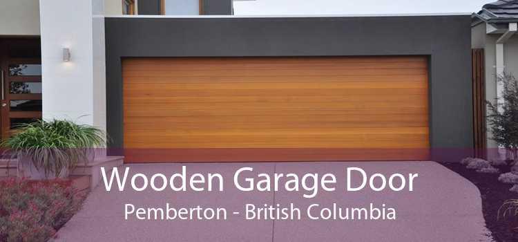 Wooden Garage Door Pemberton - British Columbia